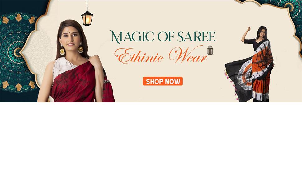 ethnic wear saree nikhilam saree