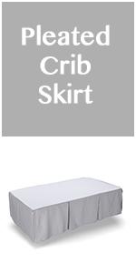 dust ruffle crib skirt