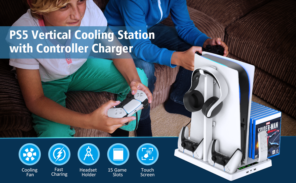 PS5 cooling station