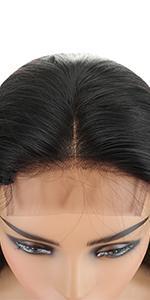 4x4  straight  wig