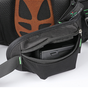 2 waist pockets, which can store FPV Drone batteries or mobile phones