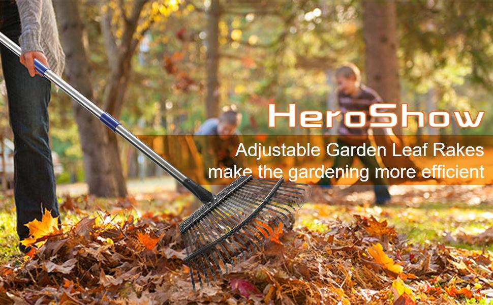garden leaf rakes