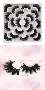 false lashes natural lashes 20mm mink lashes pack natural lashes pack cheap lashes