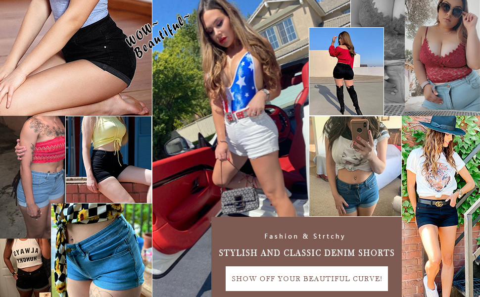 Summer Casual Short Jeans