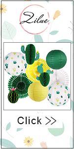 Cactus party decorations
