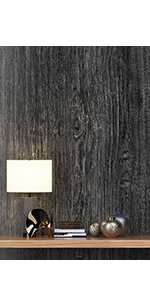 Grey Rustic Wood Contact Paper Peel and Stick Wood Wallpaper for Cabinets Countertops Table Desk