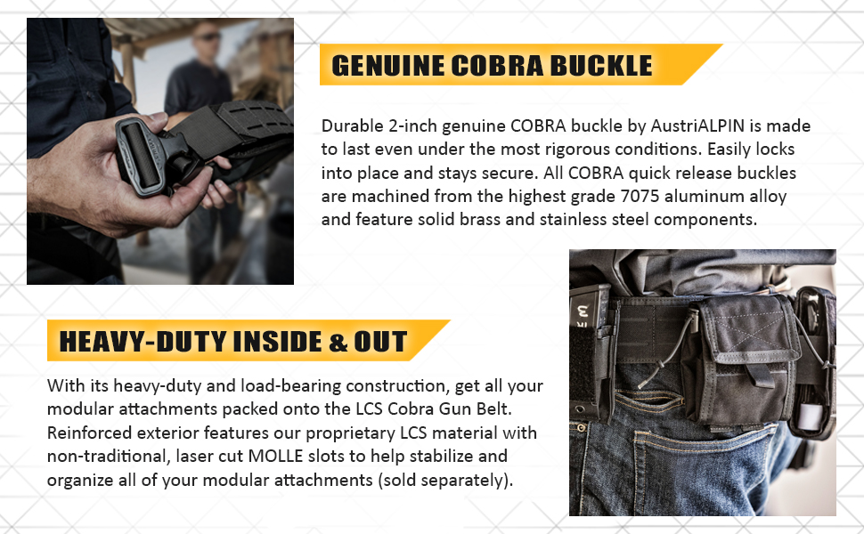 condor, outdoor, cobra buckle, belt, gun belt, tactical, dual, outdoorsmen, heavy, load bearing