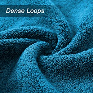 dense long loops for extra softness