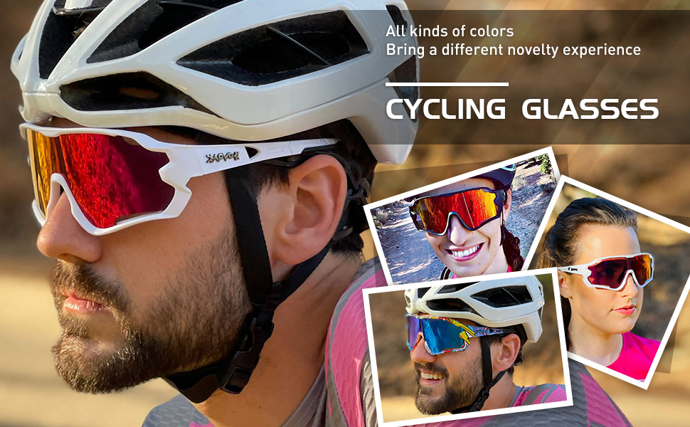 Kapvoe cycling sunglasses