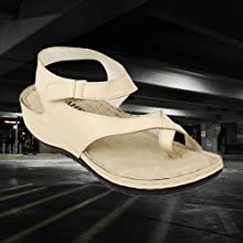 YAHE Off White Soft Sandals