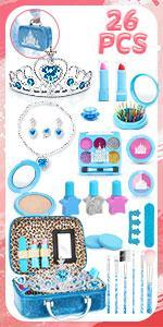 Blue Makeup Set for Girls