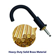 Heavy-Duty Solid Brass Material