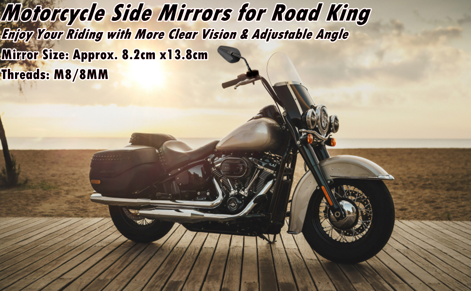 Side Mirrors for Road King