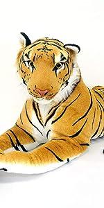 伊豆シャボテン本舗 タイガー 特大ぬいぐるみ 動物 抱き枕