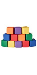 softzone toddler block set play activity patchwork mat imaginative play