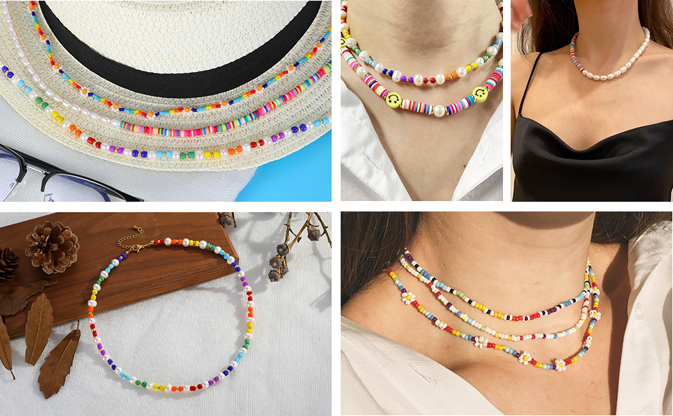 Beaded Necklace for Women