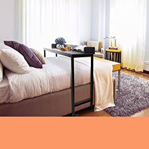Take breakfast in bed to a whole new level with the Joy overbed table