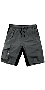 Women's Outdoor Lightweight Hiking Shorts Quick Dry Casual Sports Cargo Athletic Shorts Pockets