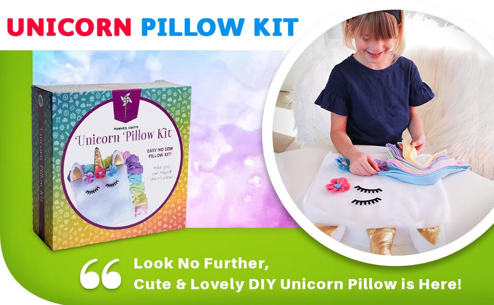 Pinwheel Crafts Unicorn Pillow Kit