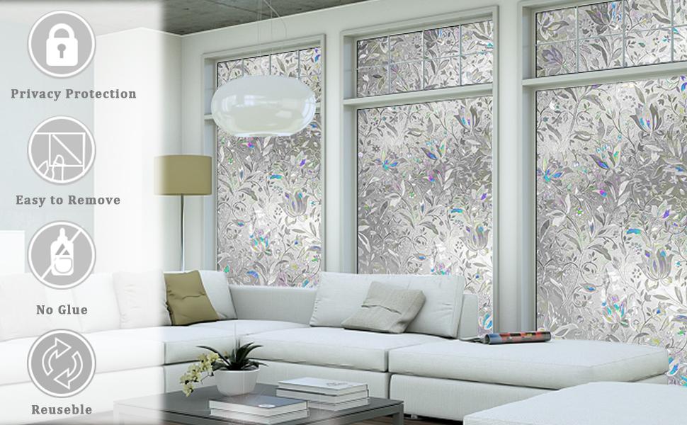window film privacy,static window cling,privacy window cling,privacy window film stained glass