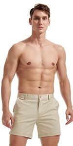 AIMPACT Mens Chino Shorts