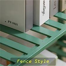 fence bamboo freestanding unit