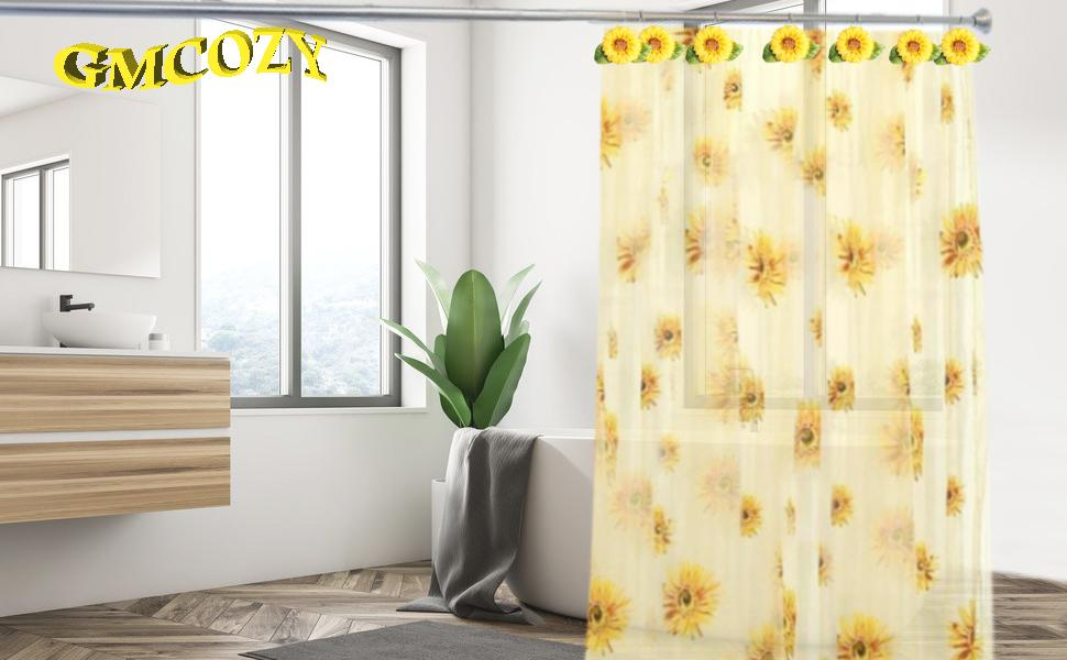 Sunflower Shower  Hooks