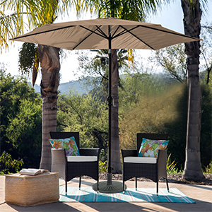 outdoor umbrella base