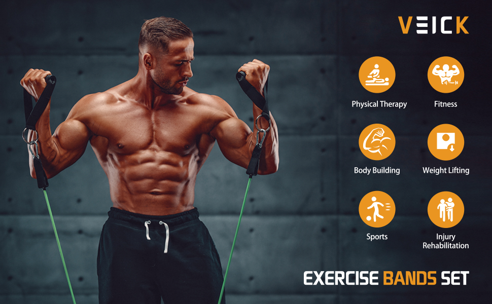 resistance bands men for working out