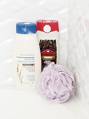 bath shower sponge loofah pouf body puff for body wash