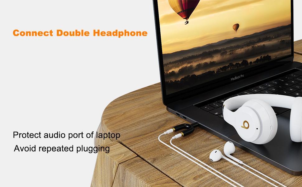 Headphone Splitter Adapter