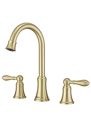 bathroom faucet gold