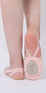 ballet half sole shoes