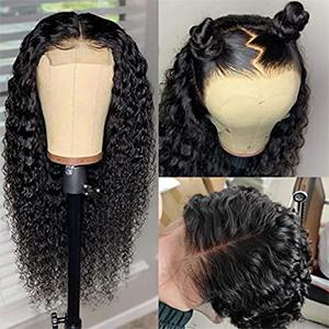 Deep Wave Wigs Human Hair