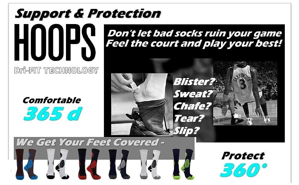 men's basketball socks for women sports athletic elite cushion padded crew fast dry SOCKS