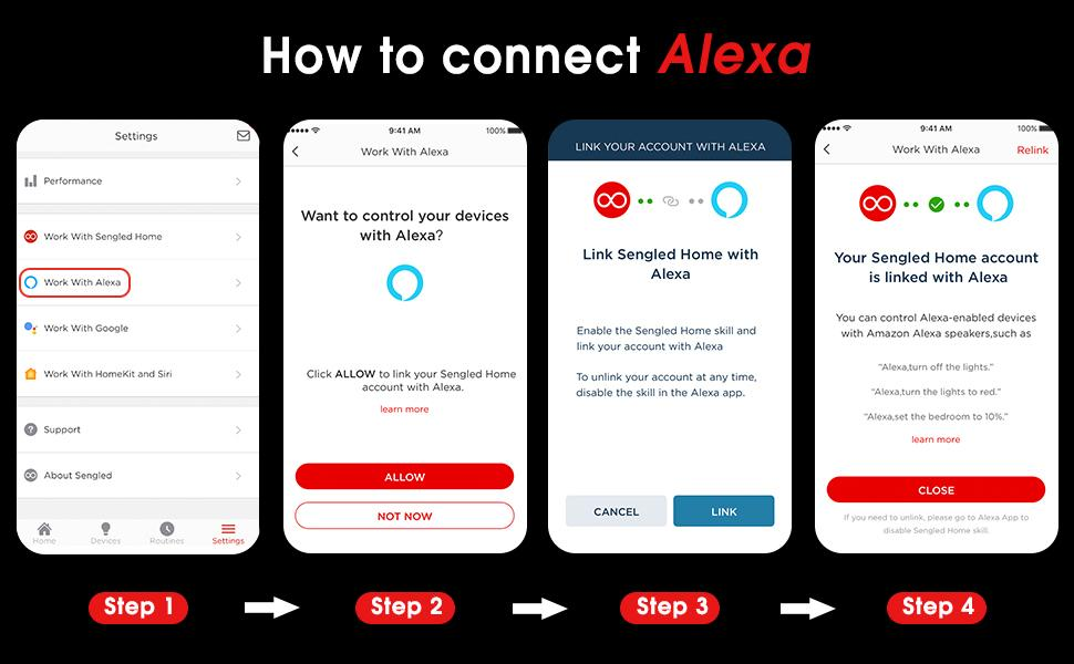 How to connect Alexa