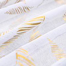 white and gold sheer curtains 45 inch length long curtain kitchen kids girls off white short sheers