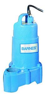 Barnes 112548 Model SP33X Submersible Cast Iron Sump Pump