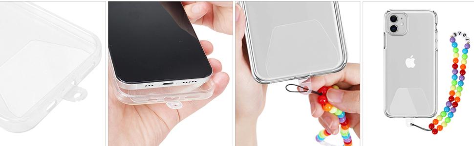 cell phone wrist lanyard holder strap hand charm key accessories keychain universal women