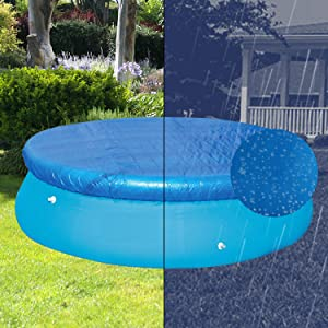 ROOCHKD 6Ft Pool Cover for Easy Set Above Ground Round Inflatable Swimming Pools