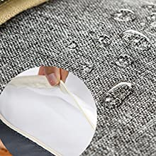 Waterproof fabric and Waterproof Interior pocket for wet cloths