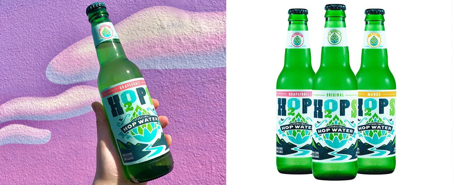 H2OPS Bottles Mango Grapefruit Original