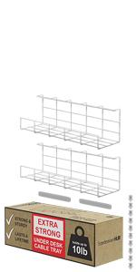 Scandinavian hub under desk cable management tray black wire organizer cable management to hide cabl