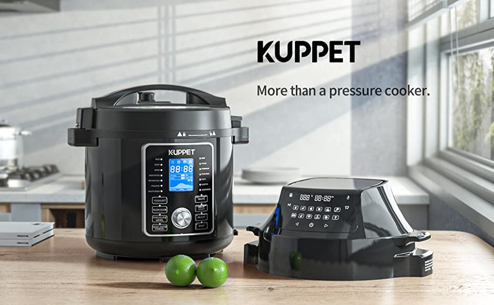 electric pressure cooker and air fryer