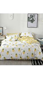 pineapple duvet cover sets