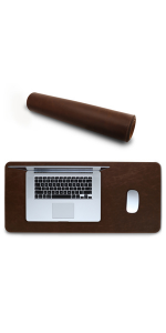 Londo Leather Extended Mouse Pad - Desk Mat