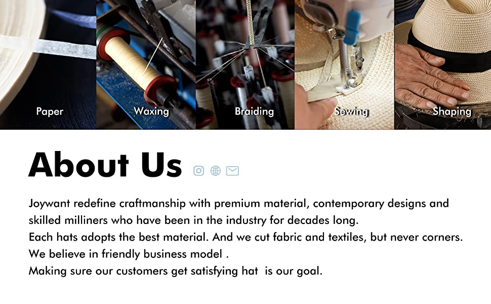 premium material contemporary designs skilled milliners friendly business model