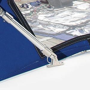 Boat Bimini Top Deck Hinge