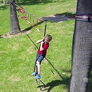 fofana ninja warrior obstacle course playset