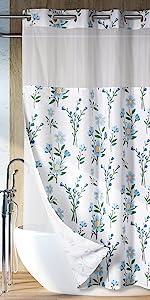 Lagute Floral Shower Curtain
